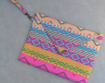 Tribal Envelope Clutch