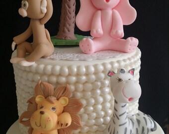 Jungle Favors, Jungle Birthday Decorations, Jungle Cake Decorations, Safari Favor, Safari Birthday Decorations, Safari Cake Decorations