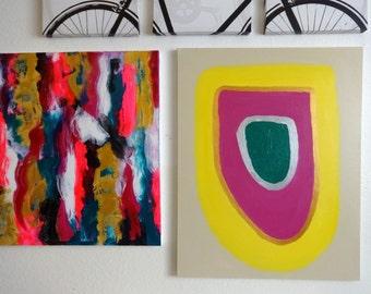 Original Painting // Abstract Art // Acrylic Painting // Modern Art // Canvas Art