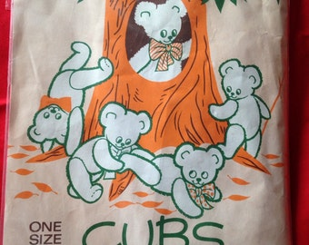 Vintage 1960s/1970s Panty Hose, Tights, Nylons. CUBS Bear Brand.