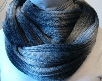 Wool snood, scarf, neck warmer, cowl