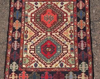 tribal soumak kilim rug sumac sumak Persian throw rug Kurdish Afshar Turkish Caucasian