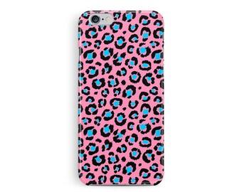 Pink iPhone 6 Case, iPhone 6 case, Womens Phone Case, Bling iphone 6 case, Cute iPhone 6 case, leopard skin iphone 6 case, zebra print case