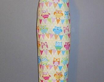 Grocery Bag Holder - Plastic Bag Holder -  Bag Dispenser - Colorful Owls