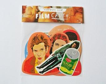Movie stickers Y tu mamá también / Donnie Darko - Film crush pack
