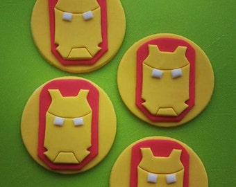 Ironman Cupcake Toppers (assorted quantities)