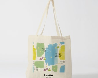 X20Y tote bag spring, bag canvas, cotton bag, tote bag, tote gift, tote bag painting, summer spring, gift for friend