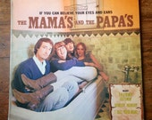 1966 If You Can Believe Your Eyes and Ears, The Mama's and the Papa's Records Album DS-5006. VG+/E. Dunhill Records