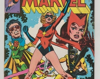 Ms. Marvel, Vol 1, 18, Bronze Age Comic Book.  VF (8.0). June 1978.  Marvel Comics