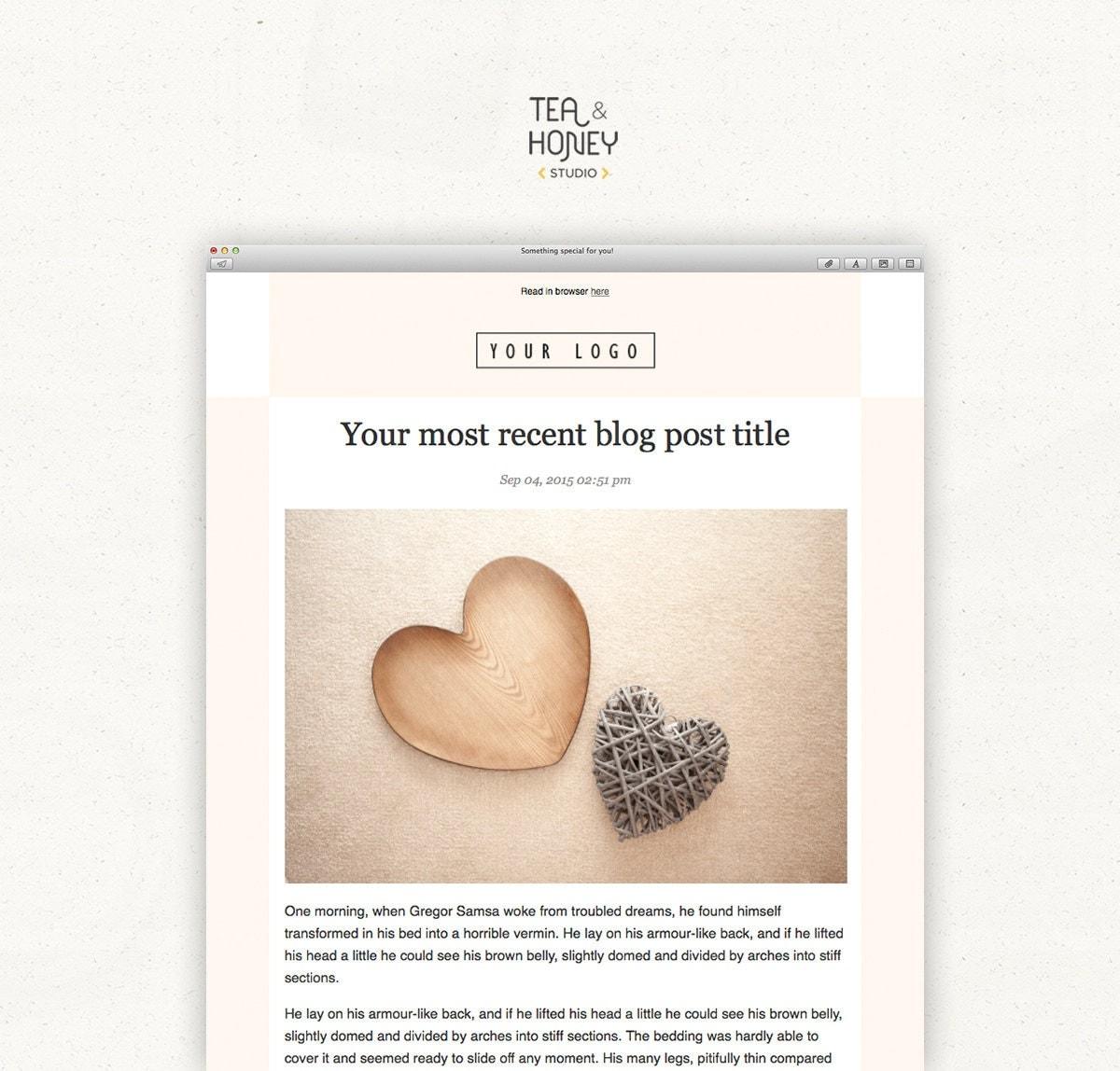 Mailchimp template | Etsy