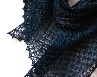 Black Sea Shawl PDF Crochet Pattern