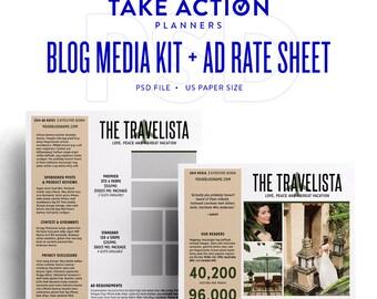 Blog Media Kit + Ad Rate Sheet