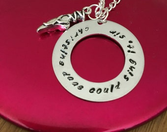 Christine Daae Could Sing It, Sir Phantom Of The Opera Necklace