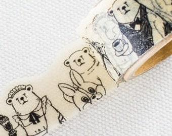Mr. polar bear's work washi tape