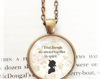 Anne of Green Gables Quote Pendant