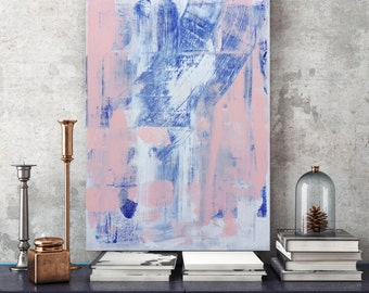 Large Original Painting, abstract landscape