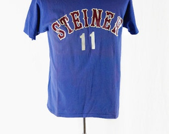 Vintage 1970s T-Shirt Steiner 11 Russell Athletic