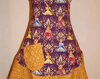 Women's Large Disney, Princess  Purple Apron