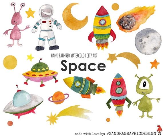 Space Clip Art, Rocket Clip Art, Aliens Clip Art, Boys