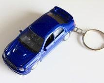 2002 Subaru Impreza WRX STI - Welly die cast on Key Chain