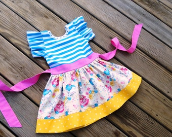 Easter Bunny dress,Girls egg hunting outfit,newborn Easter outfit,Toddler Easter dresses, infant easter dress,coming home outfit,Birthday