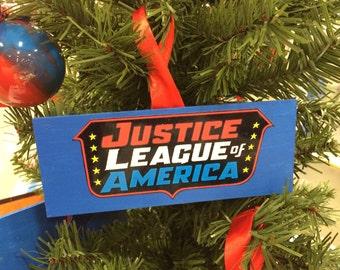 Justice League Wall/Door hanging plaque