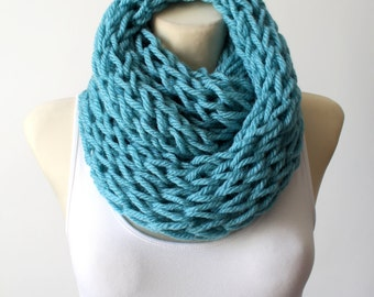 Unique Knit Scarf Winter Knit Scarf Knit Infinity Scarves Chunky Knit Scarf Knitted Ladies Scarves Gift for Her Mom Christmas Celebrations