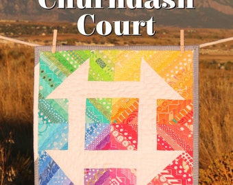 Mini Churndash Court PDF Quilt Pattern