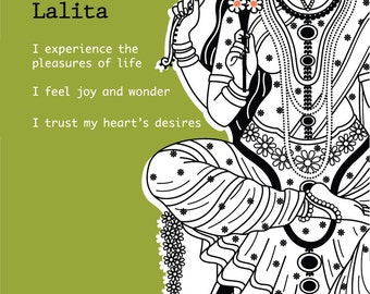 Lalita Devi Intention Card Pack