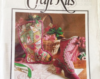 Vintage Stockings Craft Kit: Better Homes and Gardens #28404
