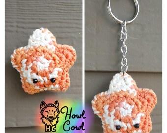 Orange Sherbet Amigurumi Star