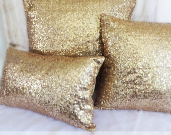 Sequin Pillow Cover, Sequin Lumbar Pillow, Sequin Pillow Case,  LARGEST COLOR SELECTION