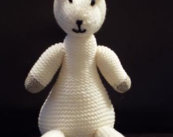 Handmade Hand Knitted Llama