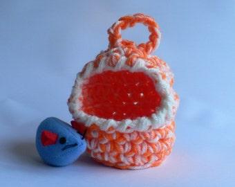 Crochet Gerbil House, Crochet Mouse House, Snuggle Sack, Rodent Cuddle Hut, Crochet Snuggle House, Pet Accessories