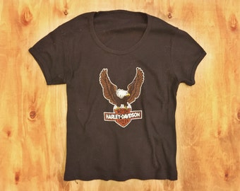 Harley Davidson - Street Cycles fitted vintage tee