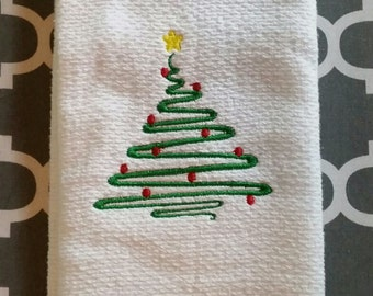 Christmas Kitchen Towel