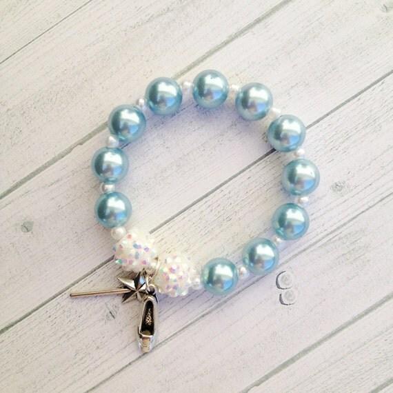 8 princess cinderella charm bracelet birthday or slumber