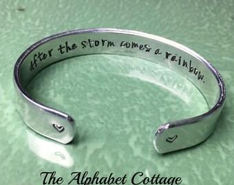 Add a Message INSIDE Your Cuff--Hidden Inside  Message--Must Purchase a Cuff Bracelet First