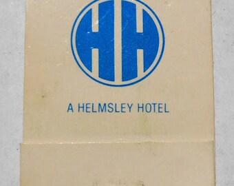 Vintage 1980 Helmsley Hotel Sewing Kit // 80s Mending Kit // Leona Helmsley // The Queen of Mean // Helmsley Hotels