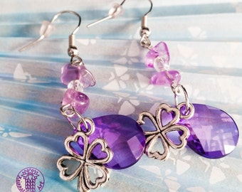 Gemstone Earrings - Nickel free