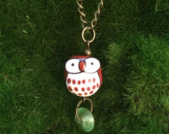 The Wise Owl Pendant Necklace