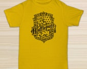 Harry Potter Hufflepuff House Logo T-Shirt - Gift for friend - Present