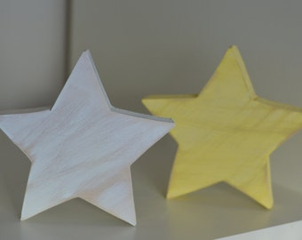 Wooden Star | Shabby Chic | Nursery Decor | Cottage  | Home Decor | Gift | Custom |