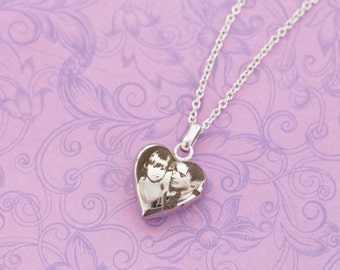 Photo Urn Pendant - Cremation Jewelry - Urn Jewelry - Urn Necklace - Ash Jewelry - Memorial Jewelry - Engraved Jewelry - Engraved Necklace