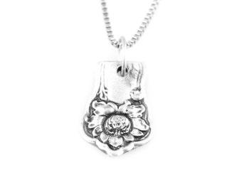 Spoon Pendant, Carona, Silver Pendant, Silver Spoon Jewelry, Vintage Jewelry, Handmade, Spoon jewelry, Vintage Pendant,Silver Spoon Necklace