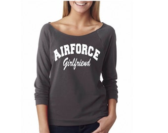 Airforce girlfriend shirt. Air force girlfriend