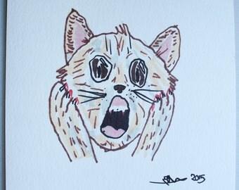 The Scream Cat