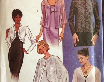 Butterick 3345 - Evening Wrap in Five Styles - Size 6 8 10