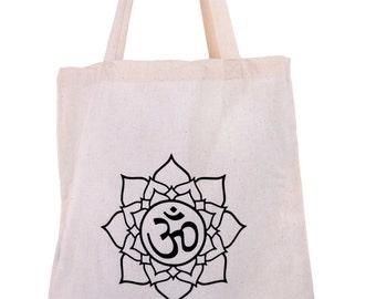 Jute bag OM Sanskrit