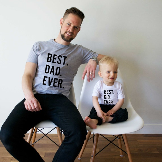 Father's Day 2016: Matching Shirts for Dad & Kids
